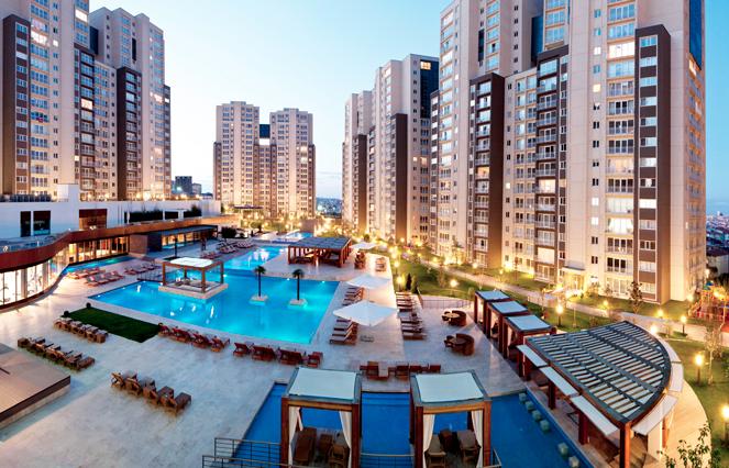 تركيا:الأجانب يشترون 4 آلاف وحدة سكنية في مايو