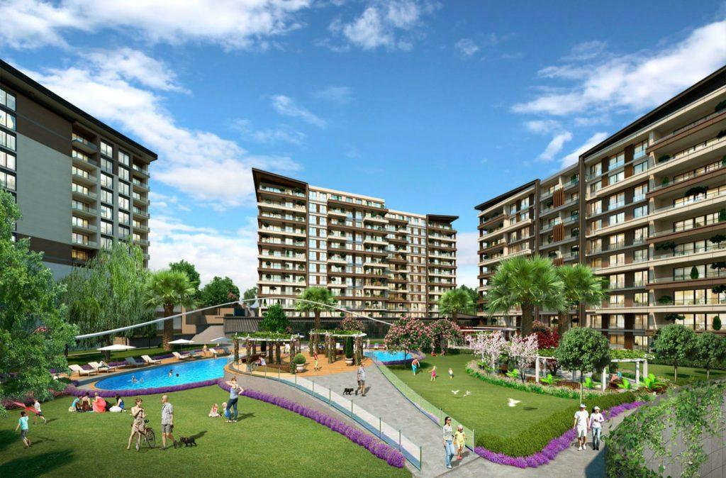المجمعات السكنية في تركيا